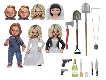 NECA Bride of Chucky Ultimate Chucky & Tiffany 2-pack